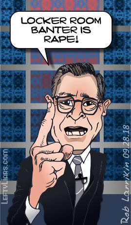Steve Colbert, TDS, loon, nutter