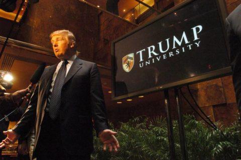 Donald Trump in Trump University
