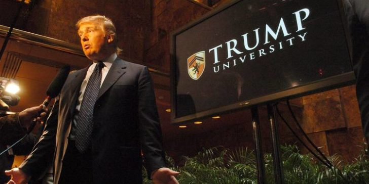 Donald Trump in Trump University