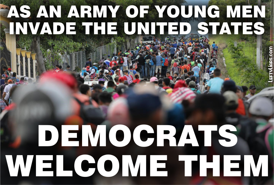 Democrats Welcome Invasion