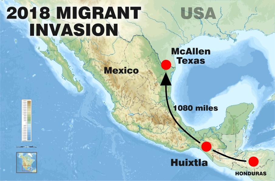2018 Honduran Migrant Invasion