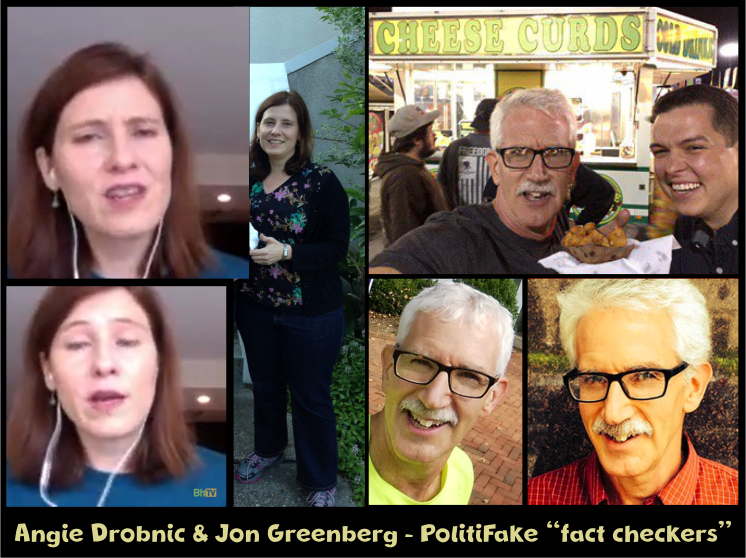 Angie Drobnic, Jon Greenberg, PolitiFake, False Dichotomy, logical fallacy