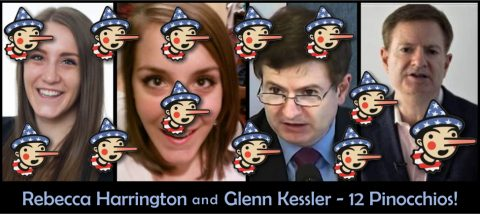 Rebecca Harrington and Glenn Kessler