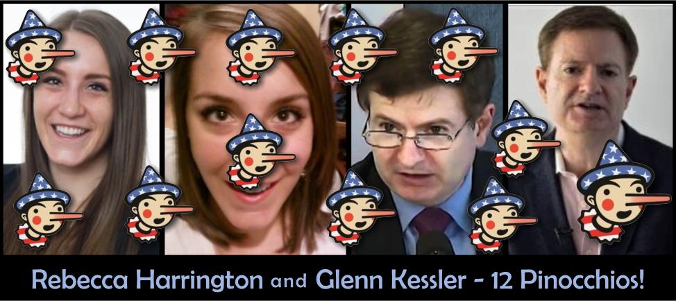 Rebecca Harrington and Glenn Kessler