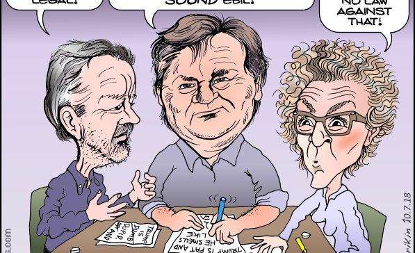 Russ Buettner, David Barstow, and Susanne Craig