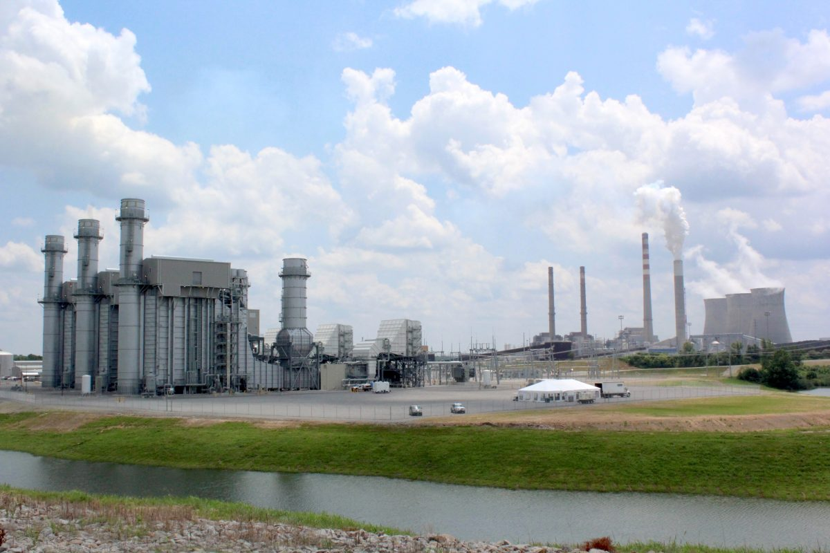 TVA Gas fired facility