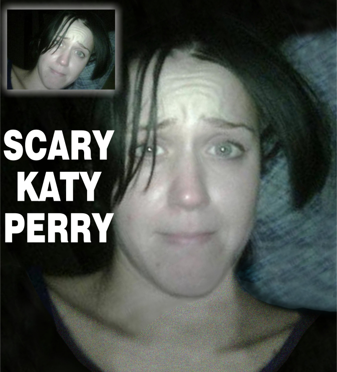 Scary Katy Perry