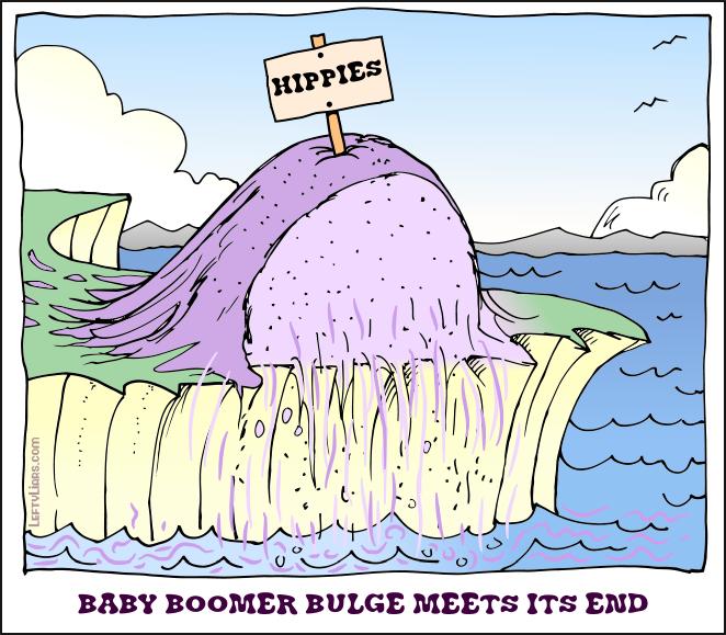 Baby Boomer Bulge