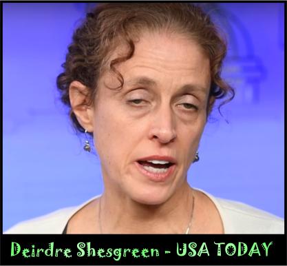 Deirdre Shesgreen USA TODAY
