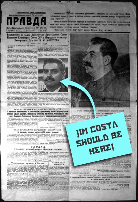 Jim Costa Pravda