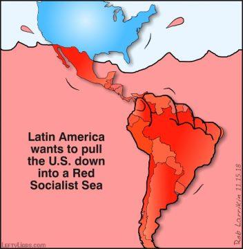 Latin America drowning USA