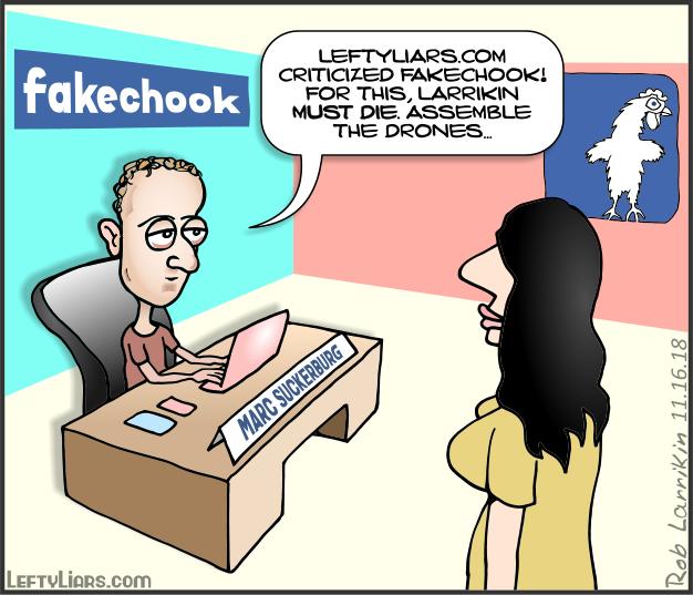 Marc Suckerburg Fakechook