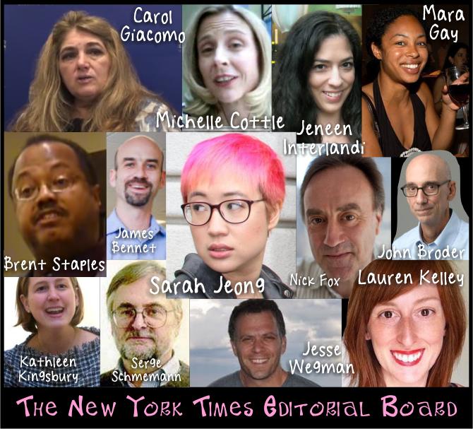New York Times editorial board