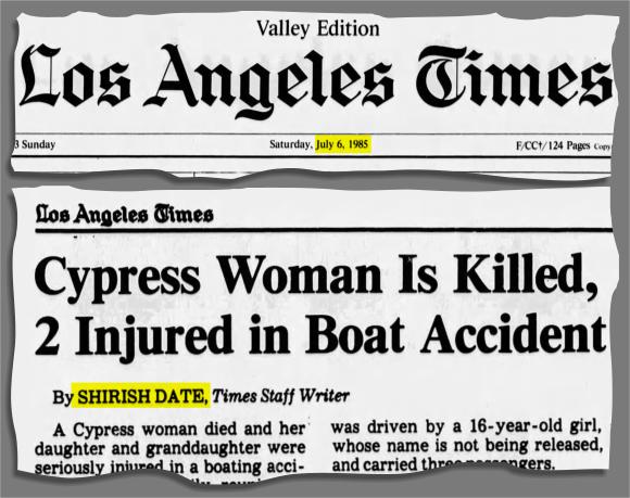 Shirish Date LA Times 2005
