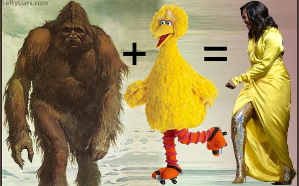Big Foot, Big Bird, Michelle Obama