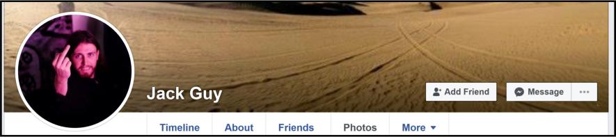 Jack Guy - Facebook