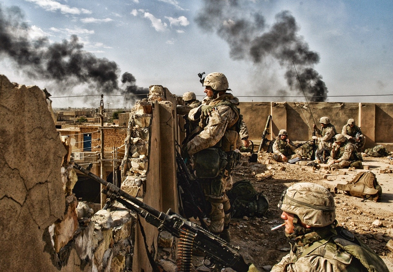 Marines in Iraq