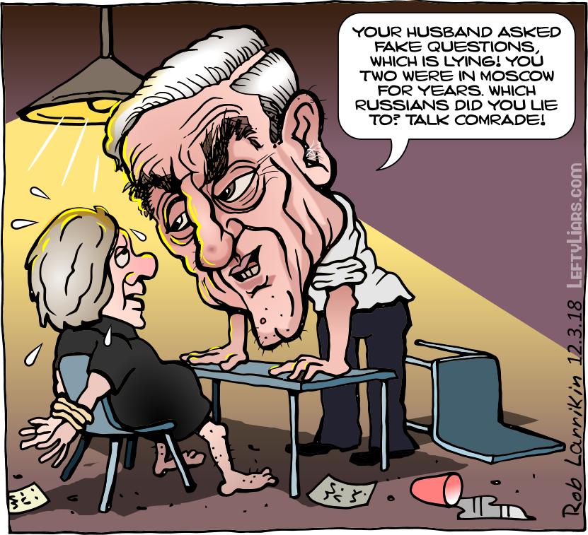 Mueller interogating Sharon LaFraniere