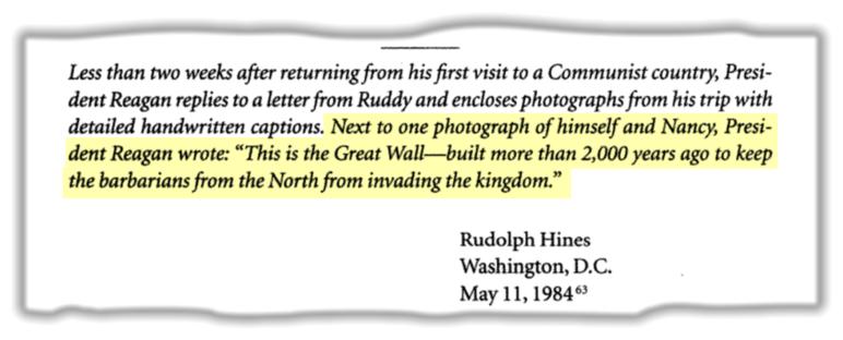 Reagan's wall