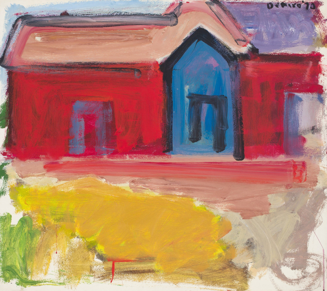 'Red House Blue Door'. Its only good feature was the title.