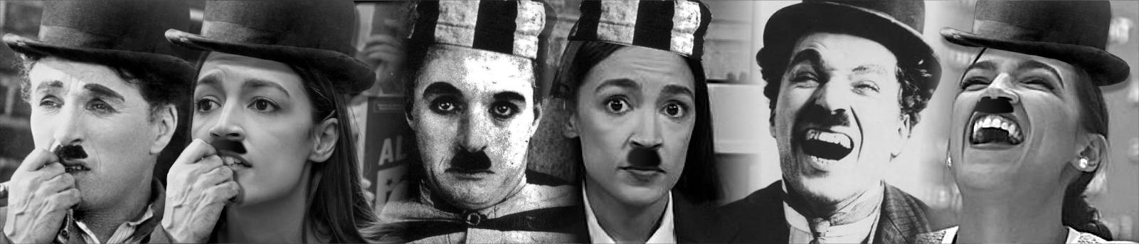 Alexandria Ocasio-Cortez Charlie Chaplin
