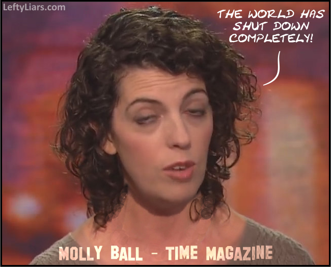 Molly Ball Fake News