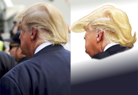 Jason Seiler's Trump before and after