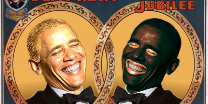Obama blackface