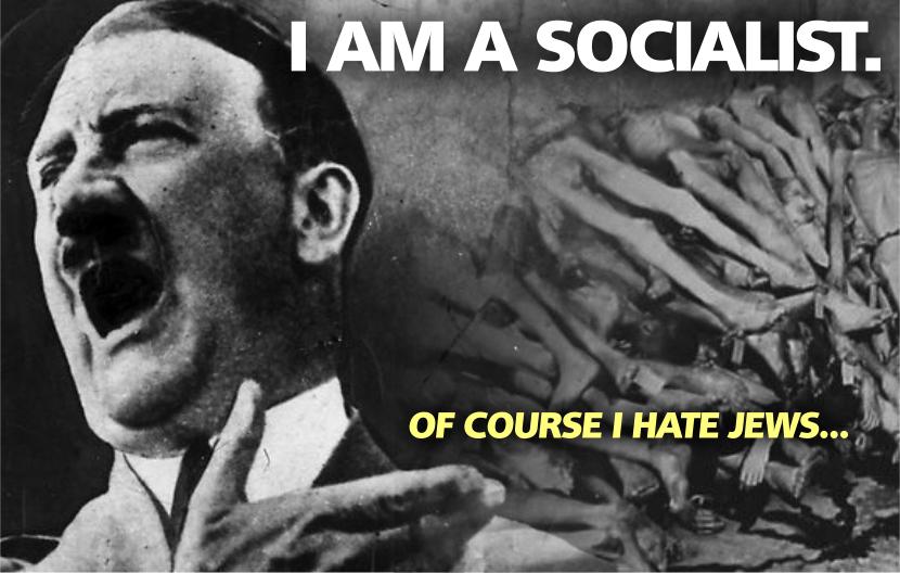 Socialists Hate Jews