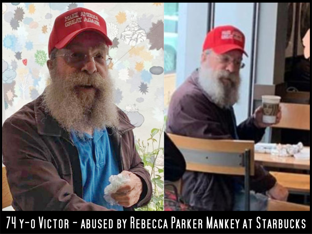 Victor F. abused by Rebecca Parker Mankey