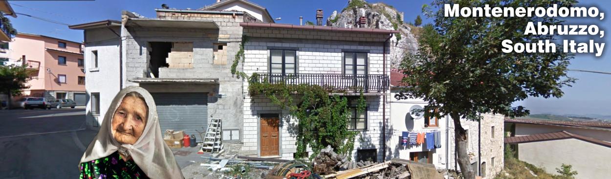 Montenerodomo Abruzzo South Italy