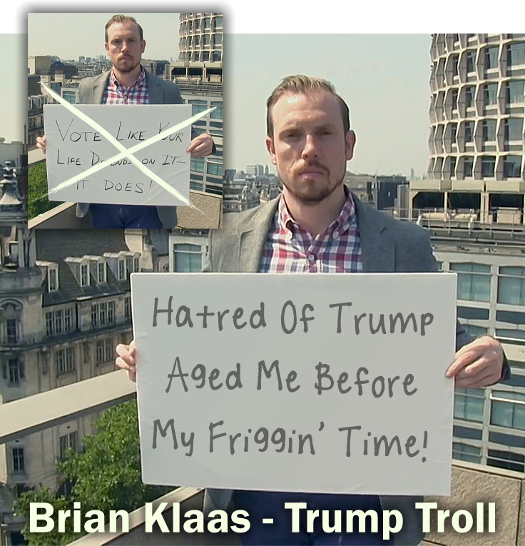 Brian Klaas - Trump Troll