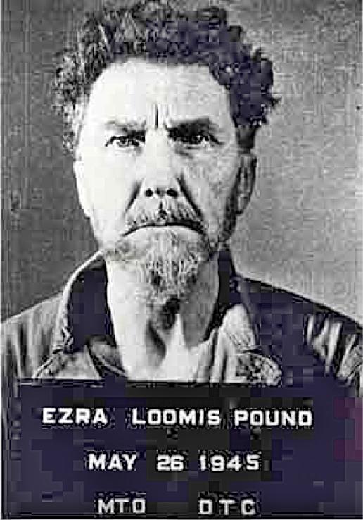 Ezra Pound 1945 Mugshot