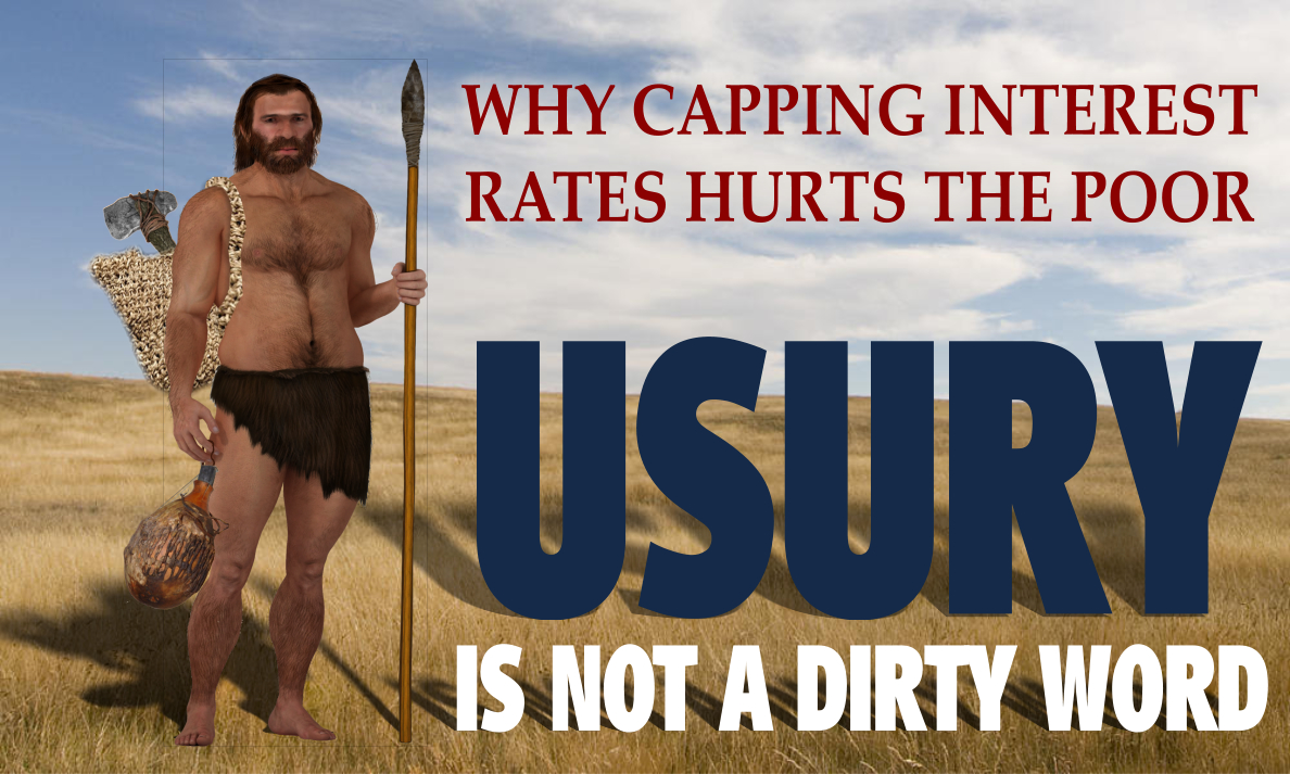 Usury is not a dirty word