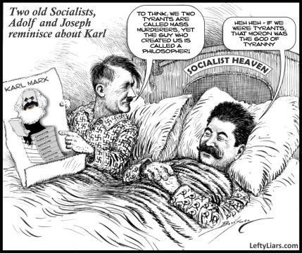 Adolf, Joe and Karl