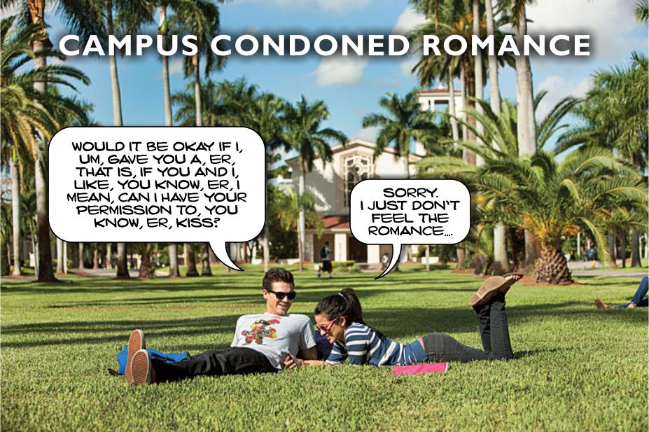 Campus condoned romance