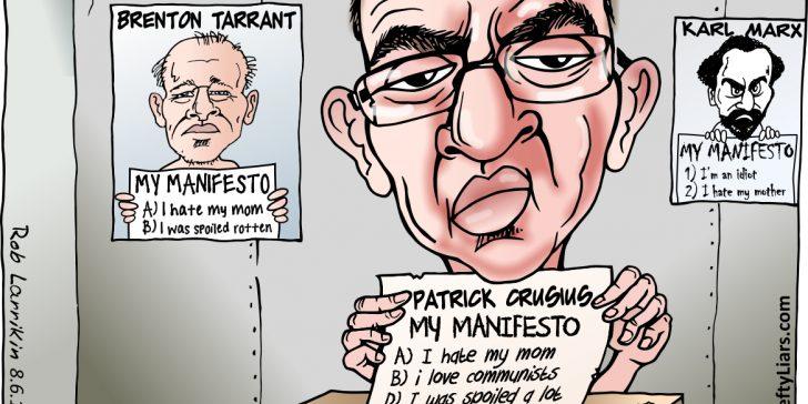 Patrick Crusius Brenton Tarrant manifestos
