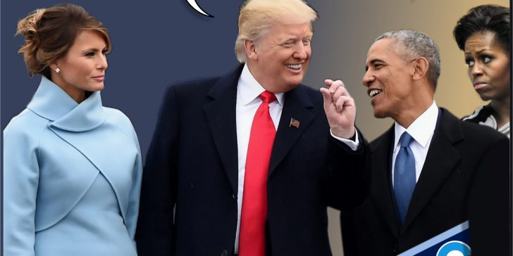 Obama, Trump, swap wives