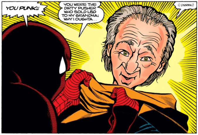 Bill Maher hates Spidey