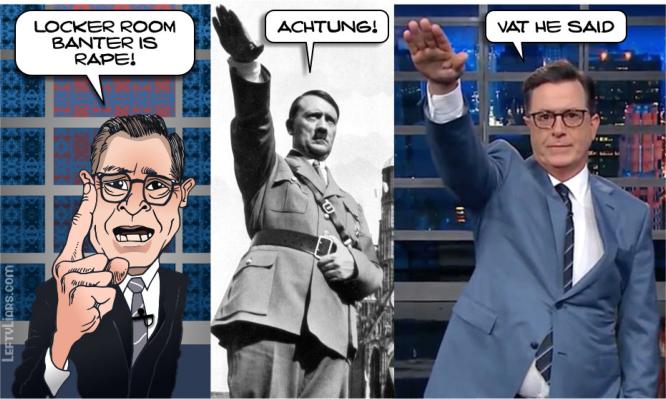 Steve Colbert Nazi