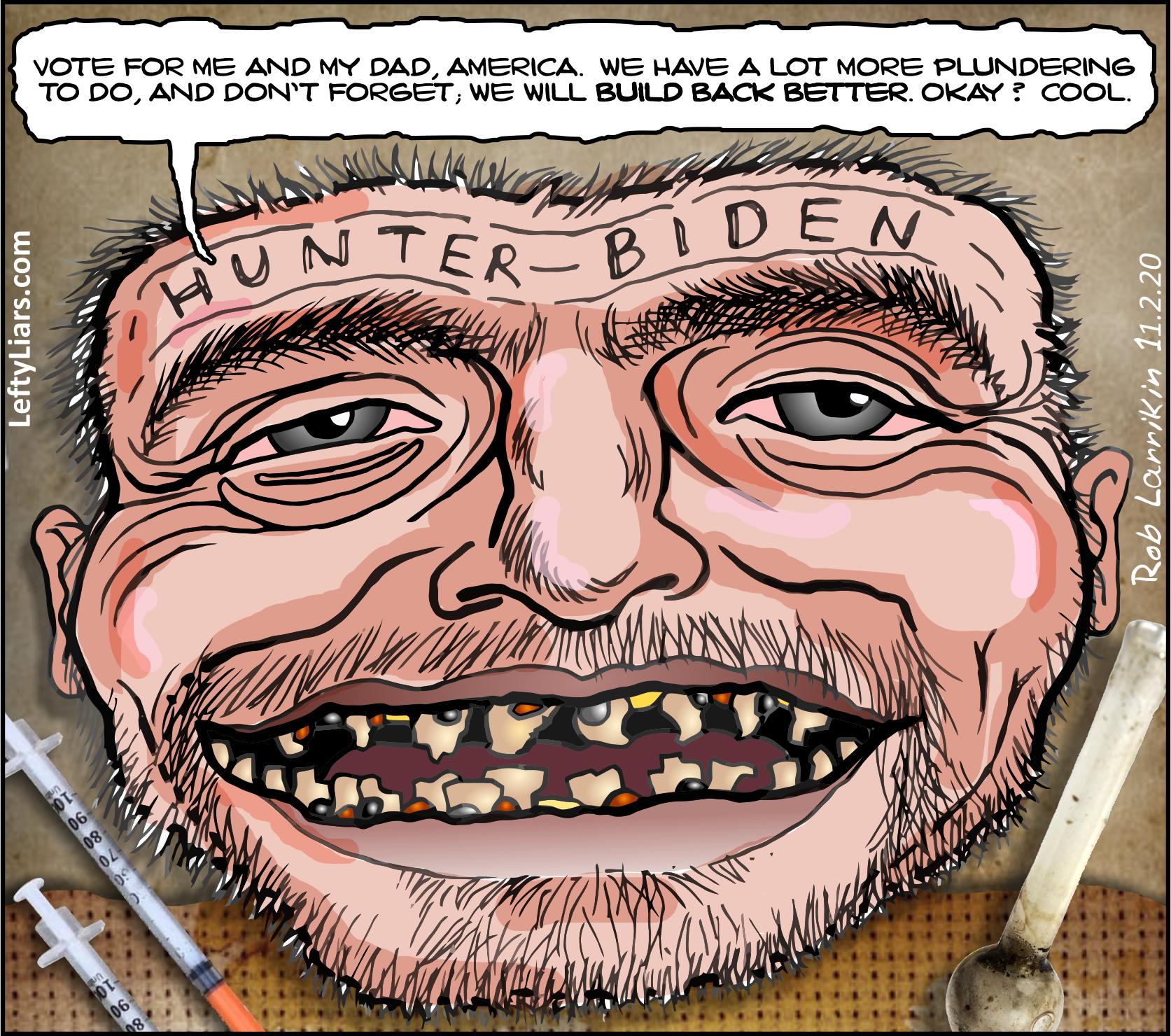 Hunter Biden Meth Teeth
