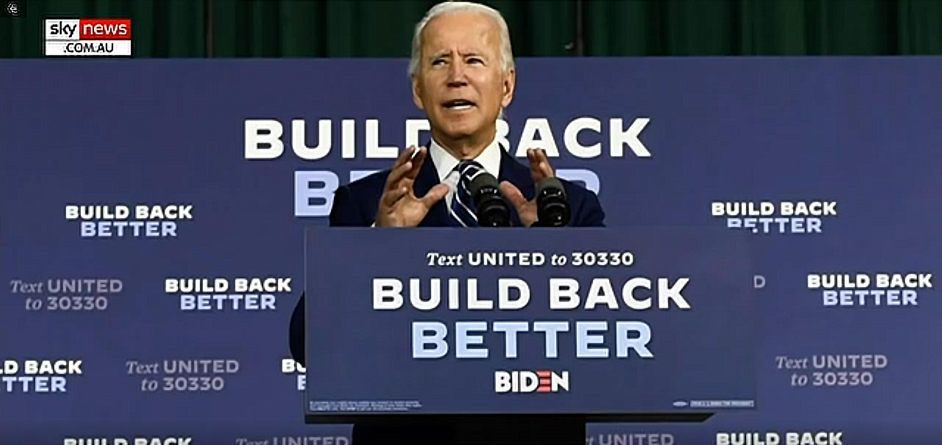 Joe Biden Build Back Better Marxism
