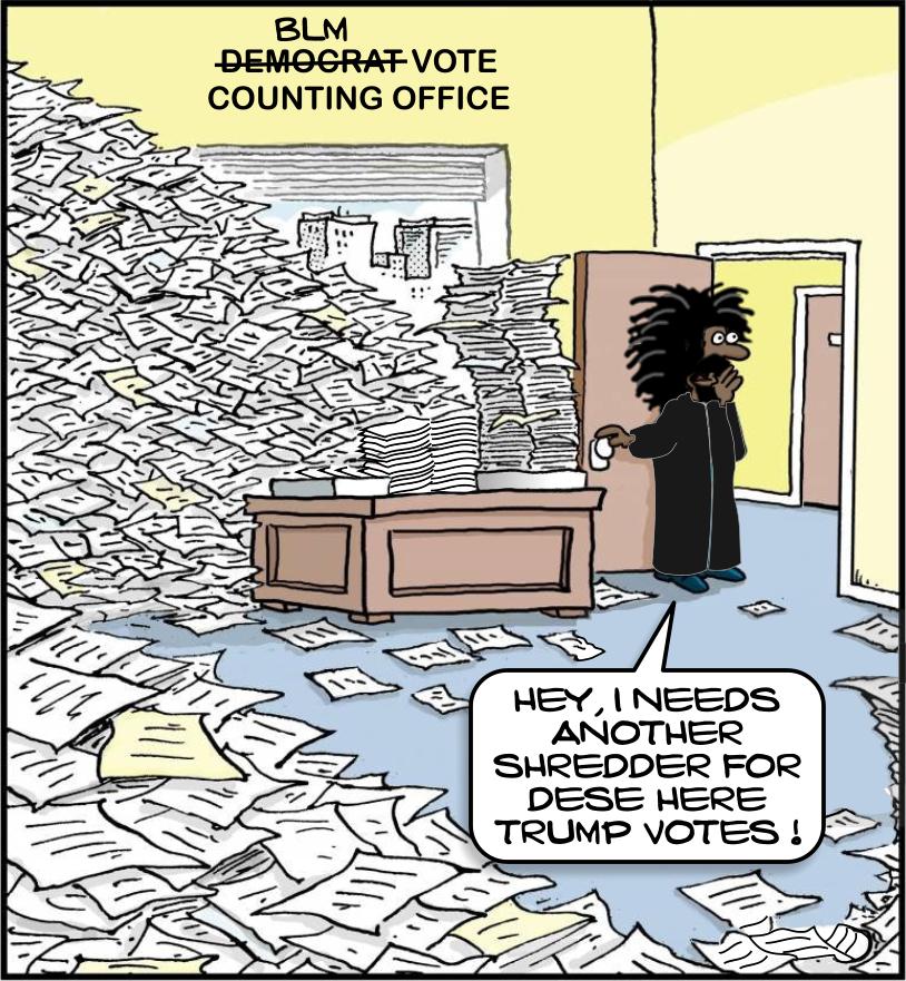 democrat vote counting