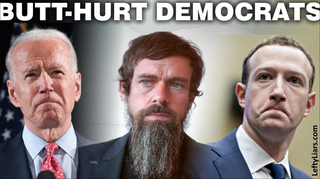 Butt-hurt Democrats
