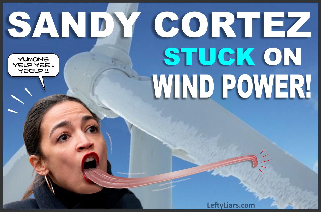 Sandy Cortez stuck on wind power