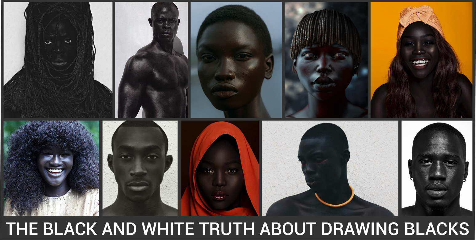 The truth about drawing blacks
