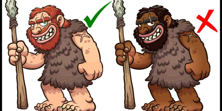 Why is this caveman cartoon racist